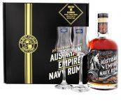 Austrian Empire Navy Rum Solera 18y 0,7l 40% + 2x sklo