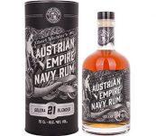 Austrian Empire Navy Rum Solera 21y 0,7l 40% Tuba