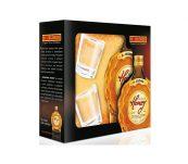 Bohemia Honey 0,5l 35% + 2 skleničky