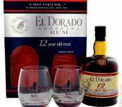 El Dorado 12y 0,7l 40% + 2x sklo